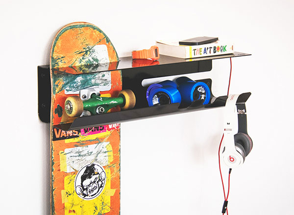 Porta Skateboard Da Muro.Wall Ride Il Porta Skate 4actionsport