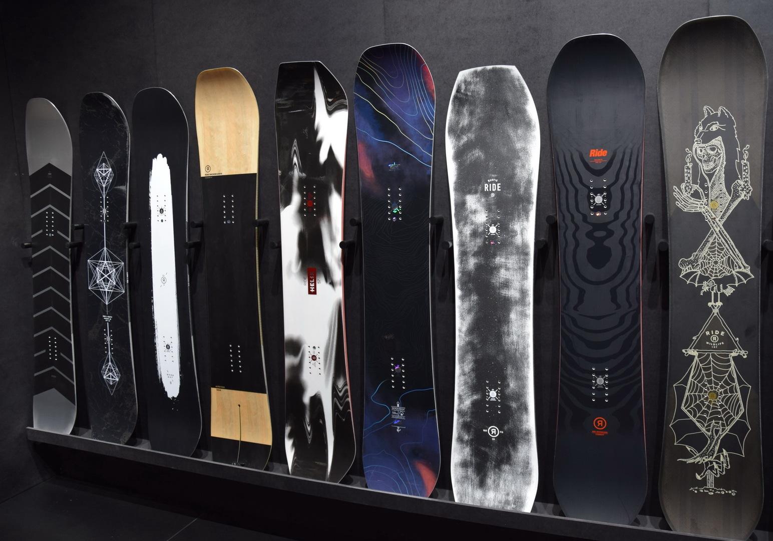 Ride Snowboard 2018 Le Novit 224 Da Ispo 4actionsport