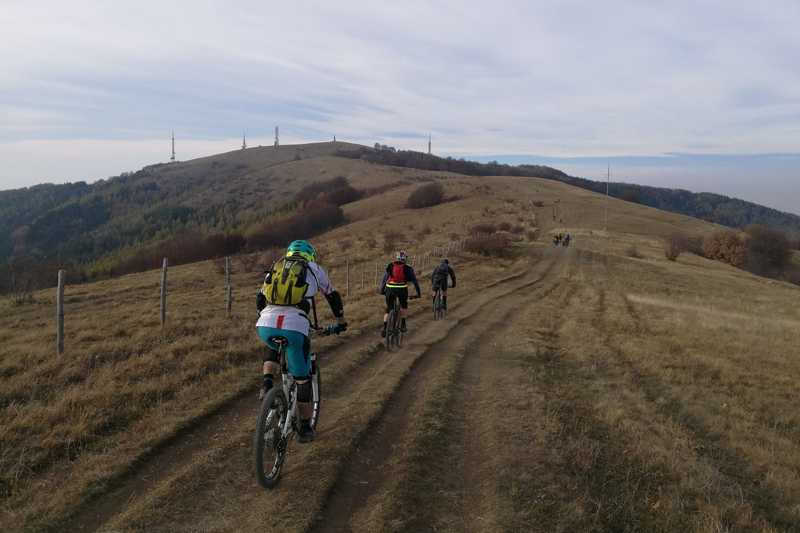 Il piacere di una pedalata in gruppo