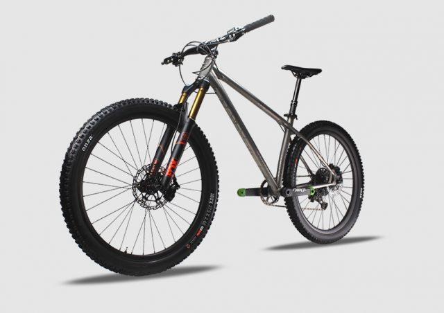 Stanton Bikes Switchback Ti MK2, un'opera d'arte in titanio