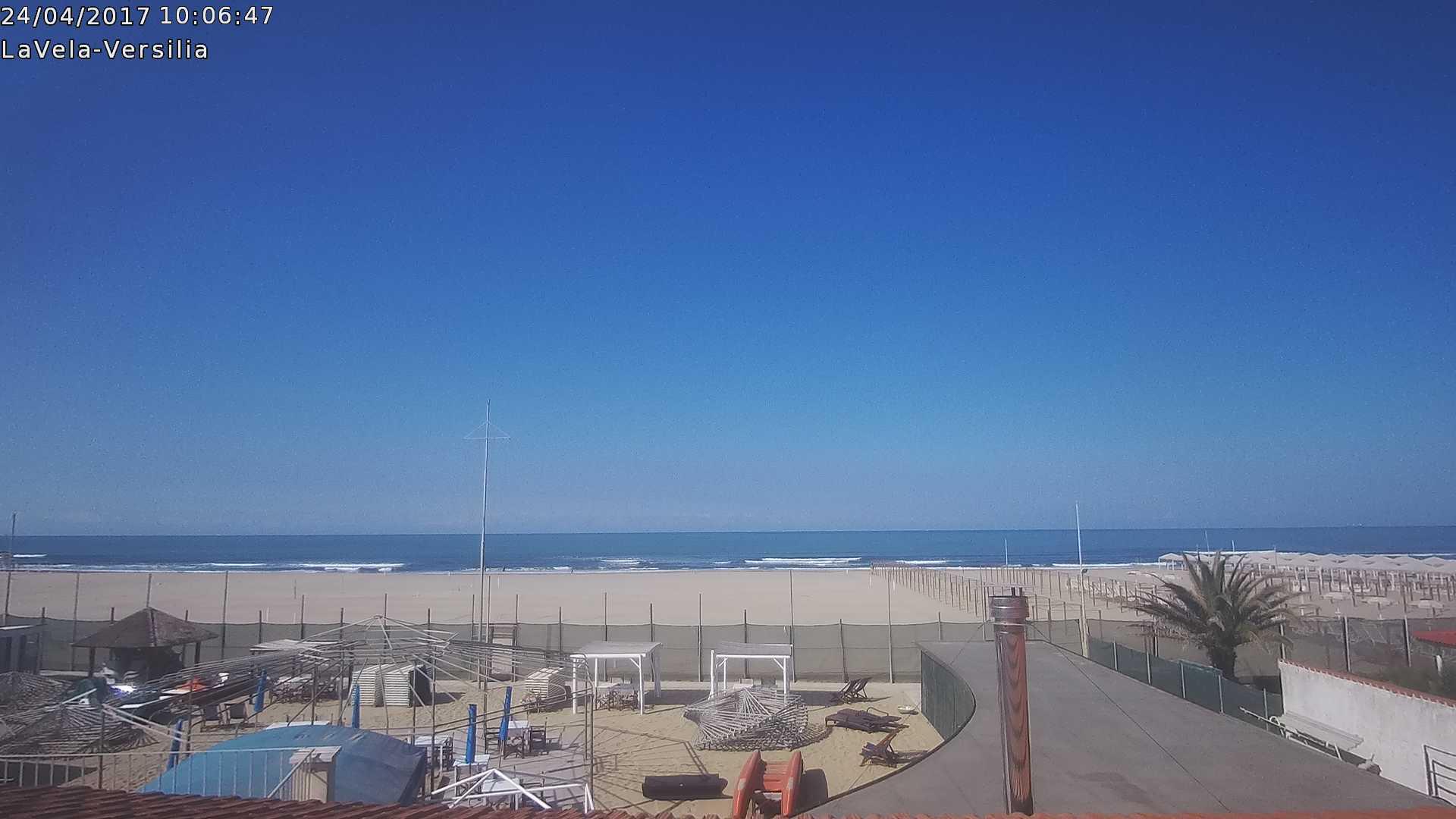 Versilia: nuova webcam Bagno La Vela a Lido di Camaiore - 4ActionSport