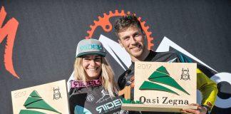 Chiara Pastore e Matteo Raimondi vincono all'Oasi Zegna la quarta e ultima tappa di 4Enduro