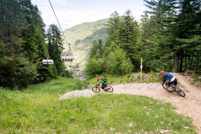 Dolomiti Paganella Bike Days - Peter Pan, flow trail