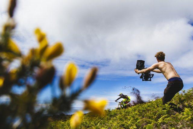 Filmando a Madeira - foto: Duncan Philpott