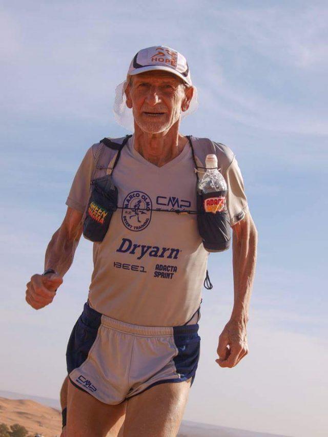 Marco Olmo protagonista di molte edizioni della Marathon des Sables