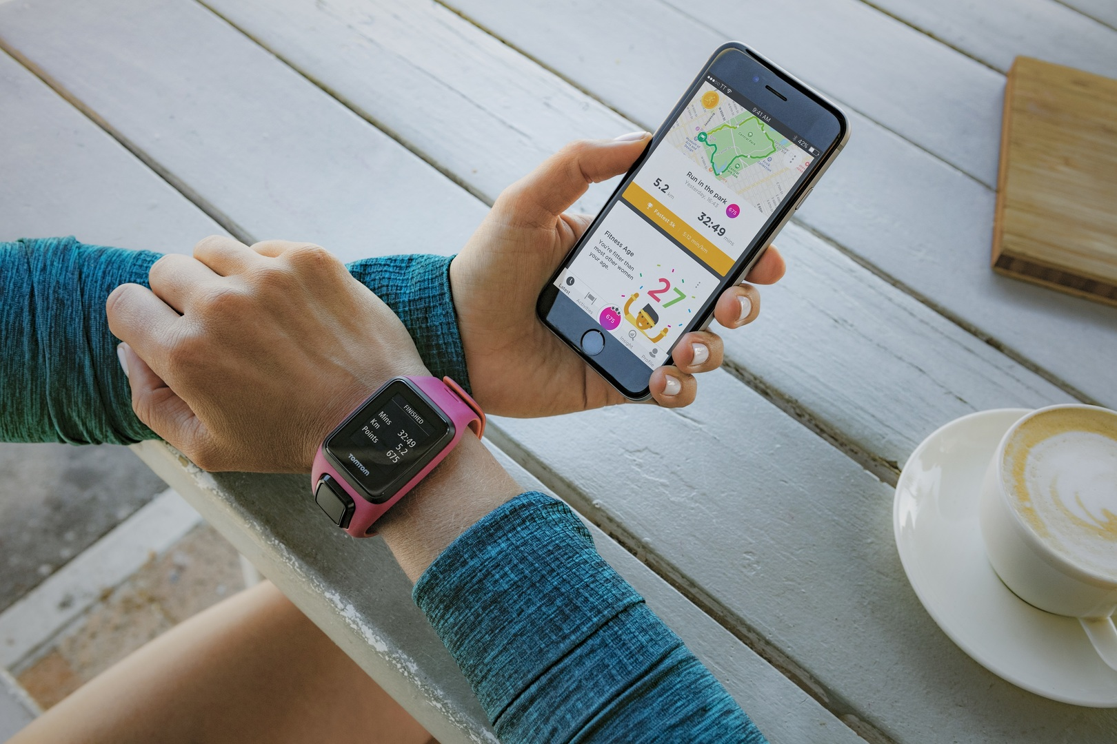 Il nuovo applicativo Fitness Age di TomTom