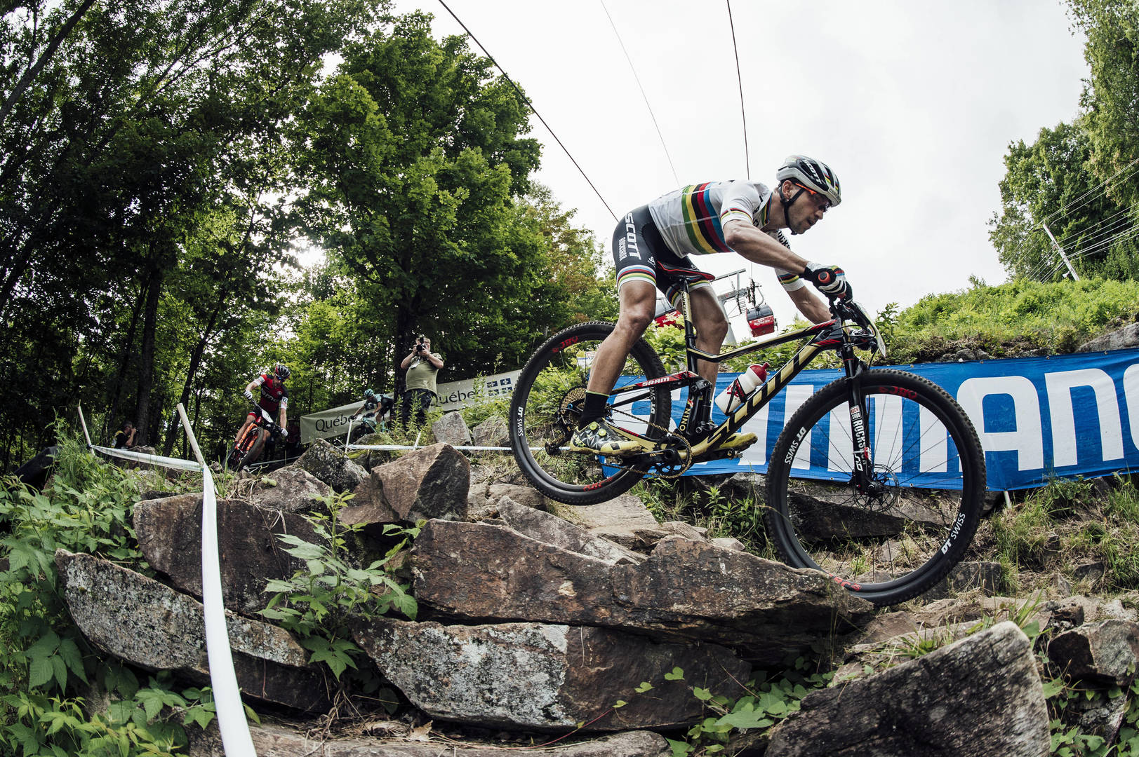 Gara e Coppa conquistate da Schurter a Mont-Sainte Anne