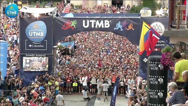 L'emozionante partenza dell'UTMB 2016