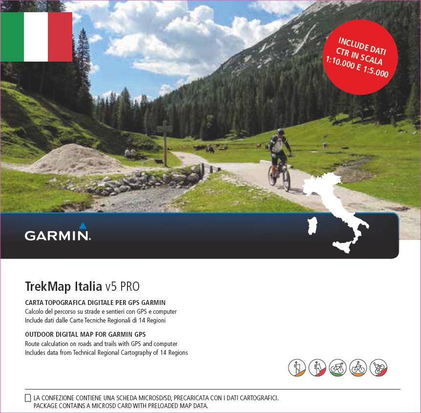 Garmin TrekMap Italia V5