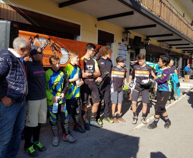 I migliori Junior al Nevegal, tappa d'apertura di 4 Cime Enduro Trophy