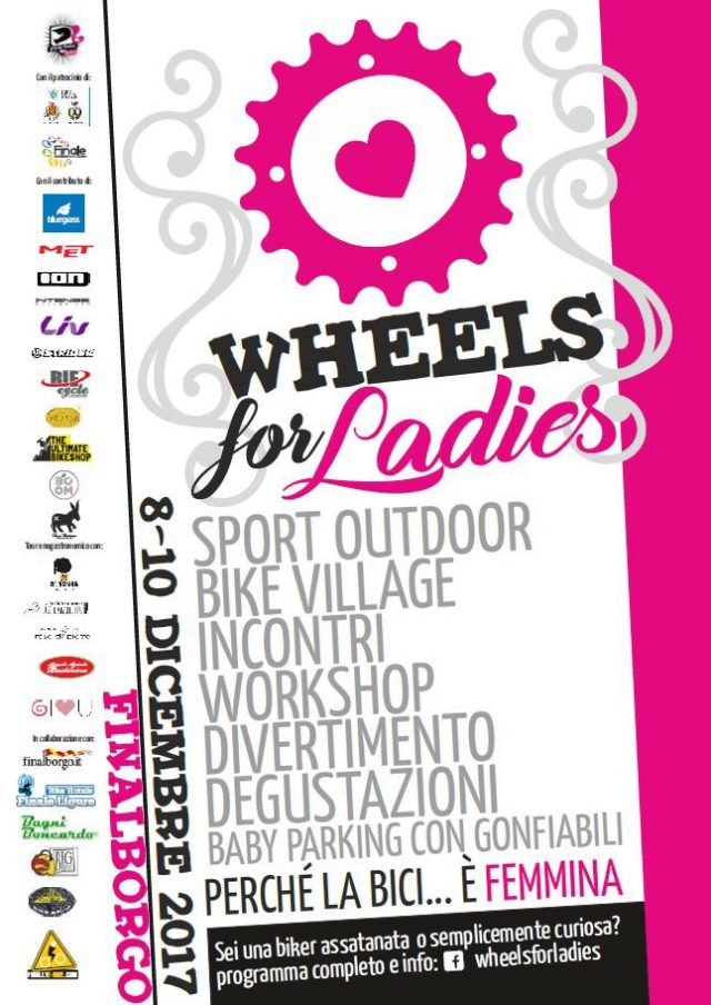 Wheeles for Ladies 2017 - La locandina