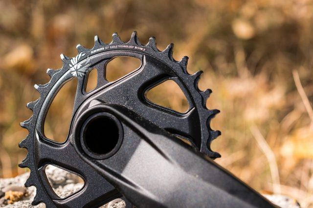 La corona anteriore X-Sync 2 di tipo Direct Mount da 32 denti
