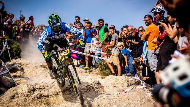 Sam Hill sulla DH Men di Bluegrass Finalenduro, round conclusivo delle Enduro World Series 2017