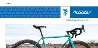 Ritchey in Val d'Orcia per Gravel Road Series