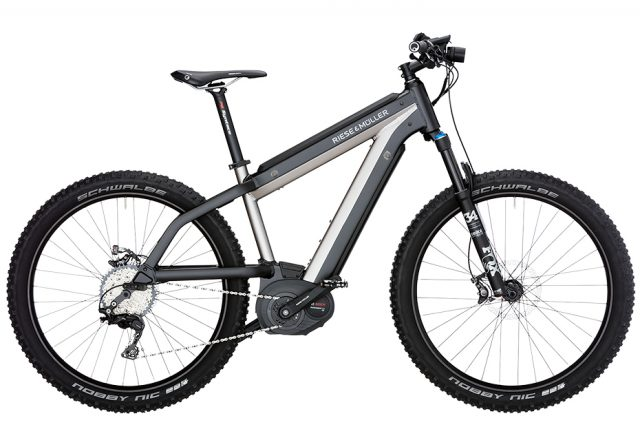 Riese & Muller Supercharger Mountain - urban silver metallic