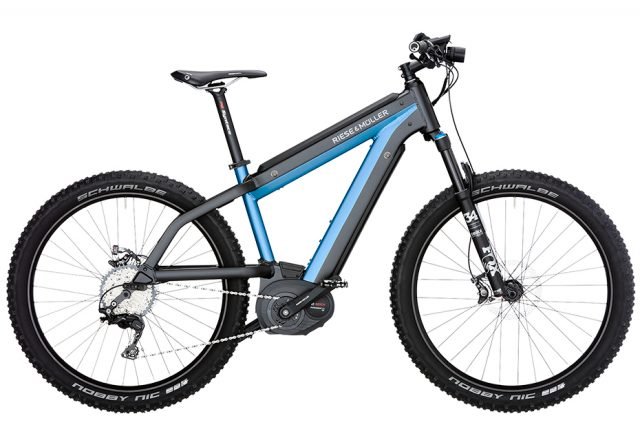 Rise & Muller Supercharger Mountain - electric blue metallic