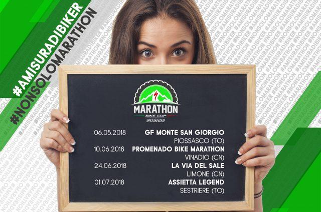 Il calendario della Marathon Bike Cup Specialized 2018