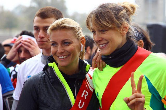 Federica Fontana e la pallavolista Rachele Sangiuliano testimonial d'eccezione dell'evento