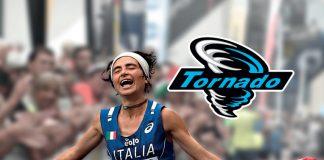 Silvia Rampazzo, Campinessa del mondfo in carica di Trail running, componente illustre del Tornado Team