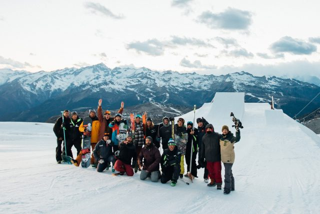 La crew al completo - ph. Lorenzo Fizza Verdinelli