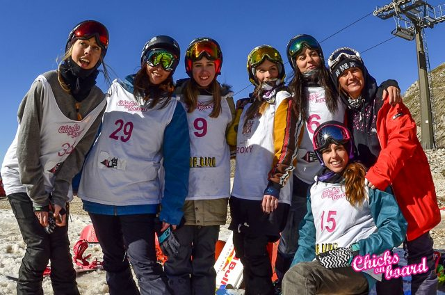 Chicks on board 2018 freeski sci