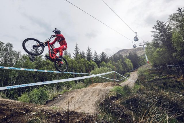 Caluori a Fort William - foto: Jan Kasl/Red Bull Content Pool