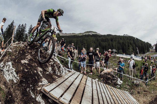 Maxime Marotte a Lenzerheide - foto: Bartek Wolinski/Red Bull Content Pool