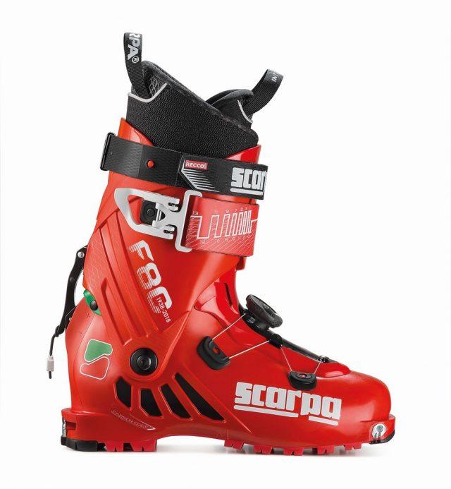 Il modello F80 dedicato agli amanti dello sci alpinismo che ricercano qualcosa di esclusivo e unico.