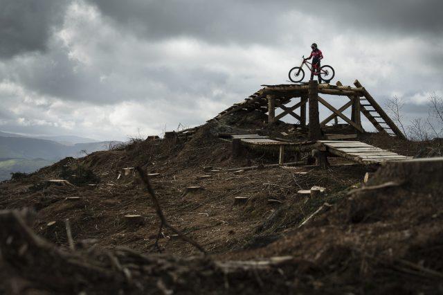 Dan Atherton al Dyfi Bike Park