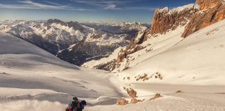king of dolomites freeride foto