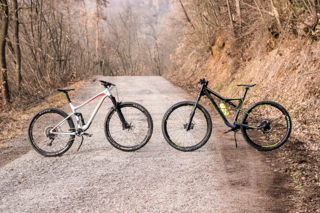 BMC Speedfox 01 VS Cannondale Scalpel SE 01