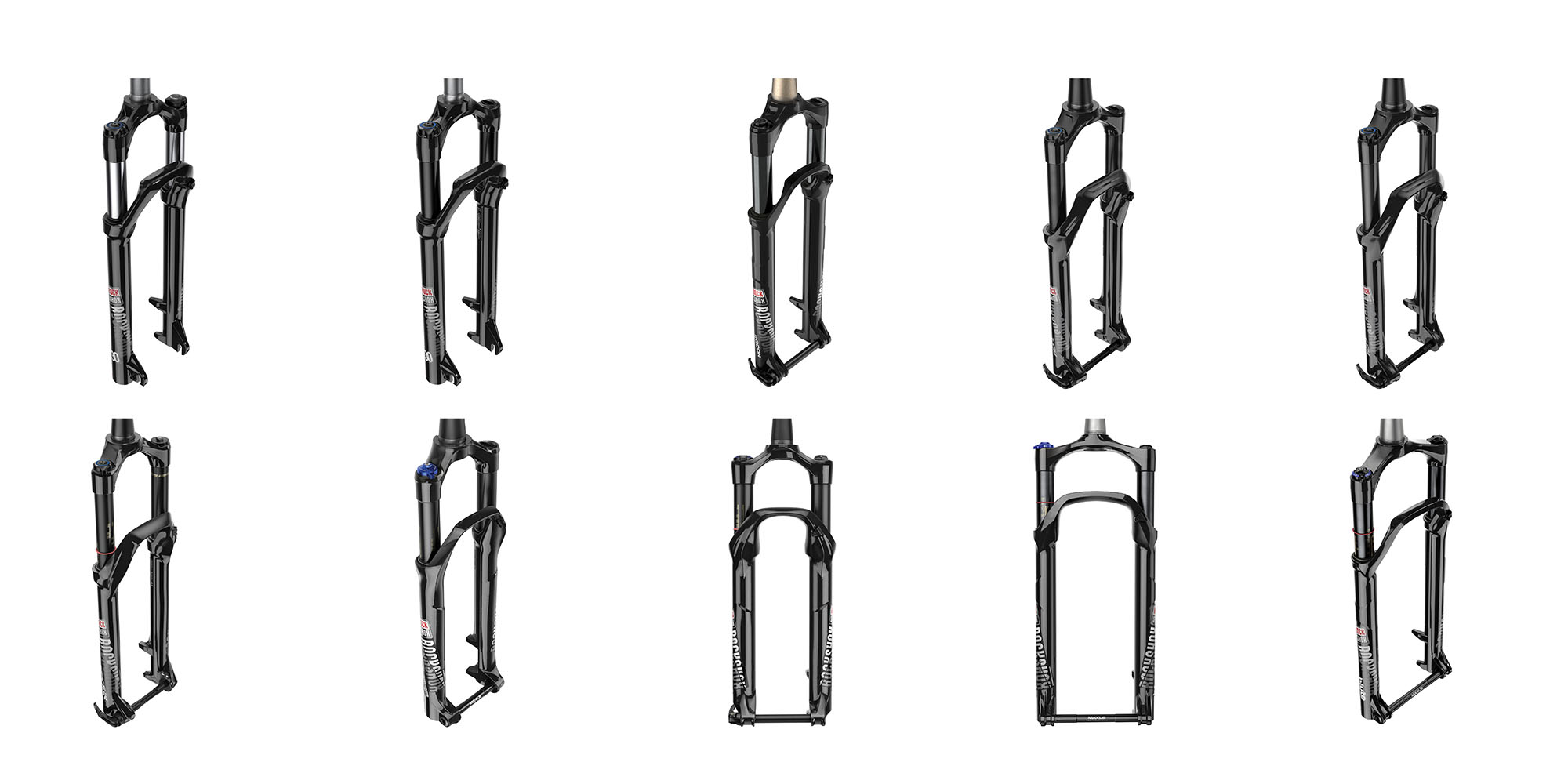 Rock Shox entry & mid range forks