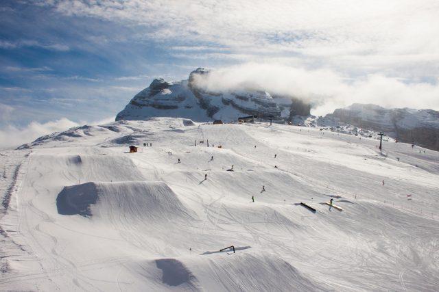 ursus snowpark freeski madonna di campiglio snowpark