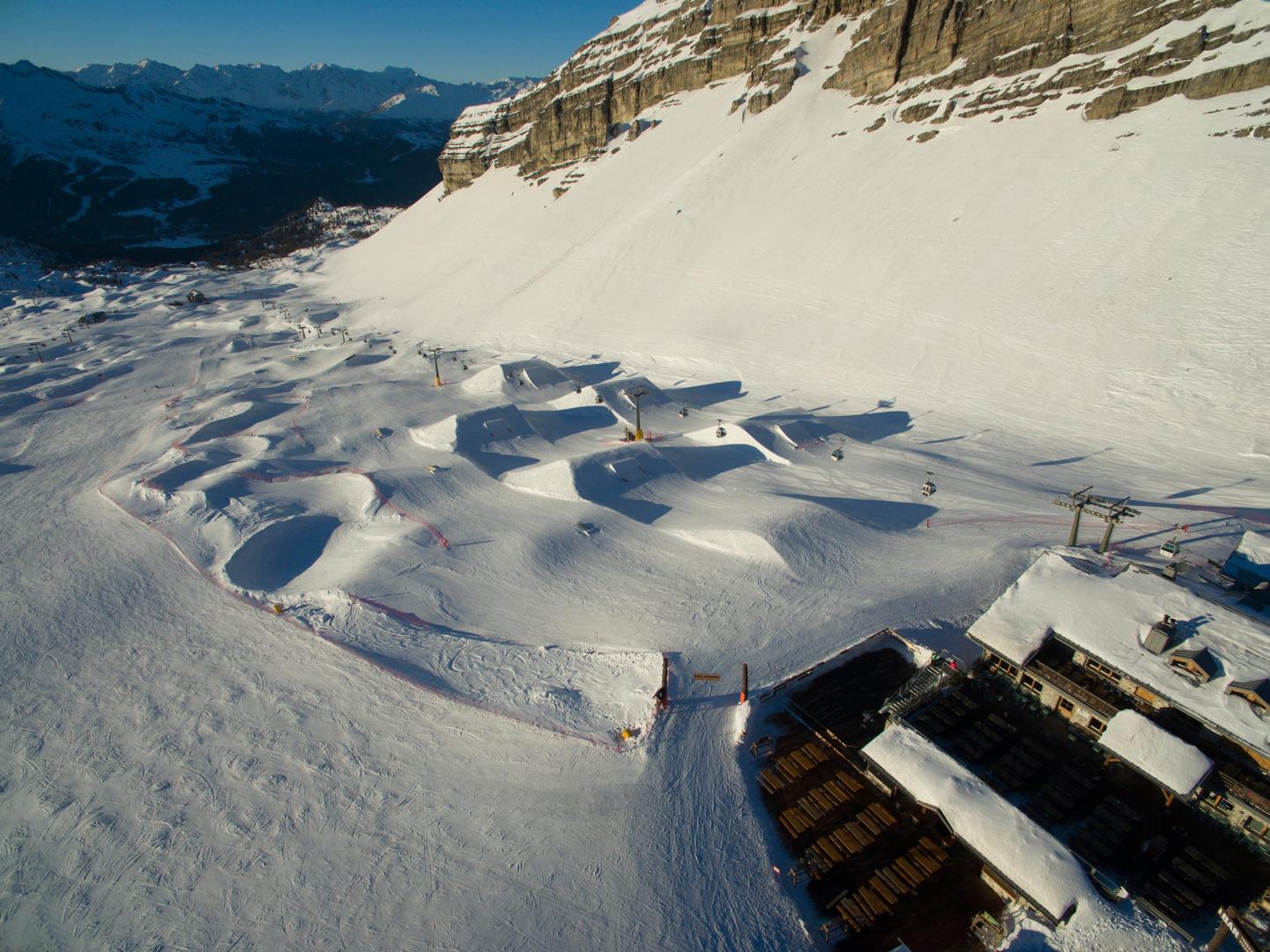 madonna di campiglio ursus snowpark freeski snowpark