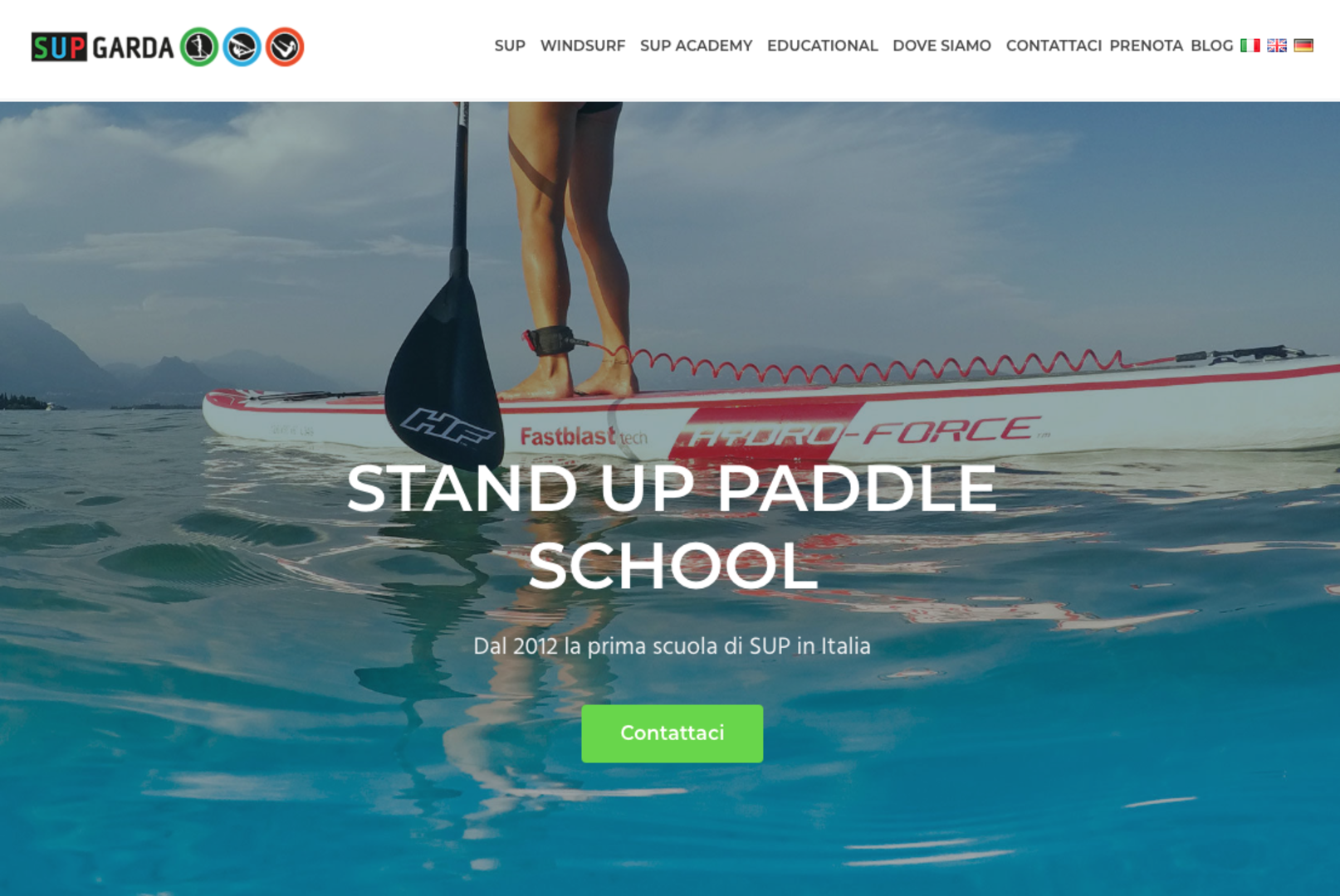 Stand up paddle school Supgarda