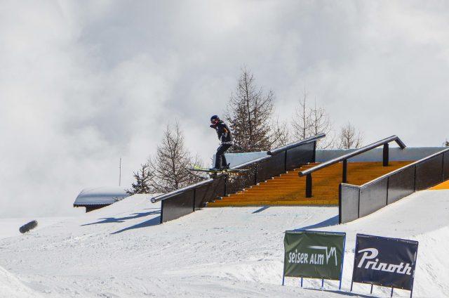 snowpark alpe di siusi freeski coppa del mondo