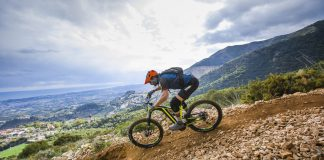In azione sui trail di Malaga - Foto: Andoni Epelde