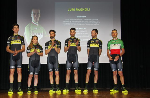 Scott Racing Team alla presentazione ufficiale