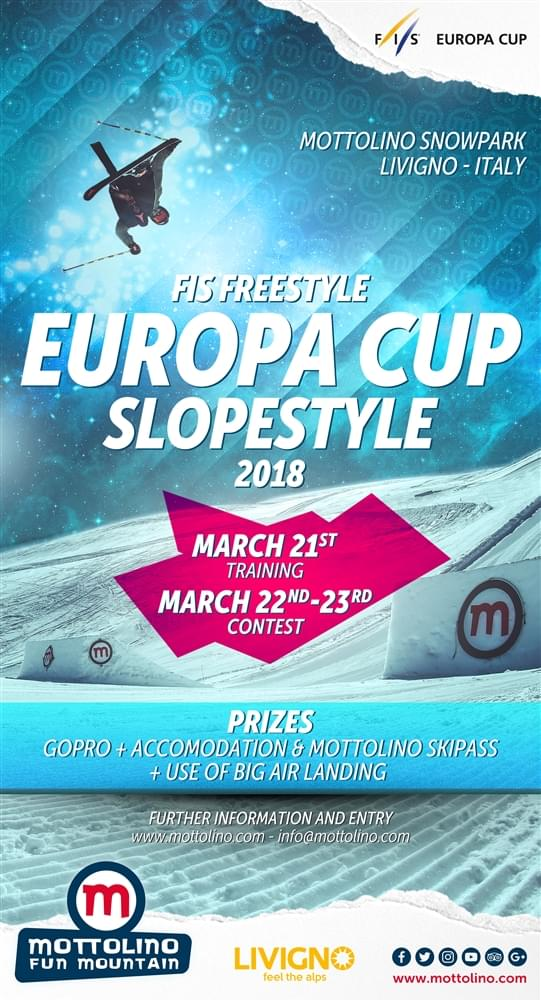 livigno mottolino europa cup freeski sci fis