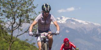 Gunn-Rita Dahle in azione alla Marlene Südtirol Sunshine Race di Nalles - foto: Michele Mondini