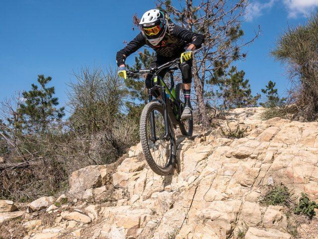 Sullo sfidante trail Sant'Anna di Sestri Levante