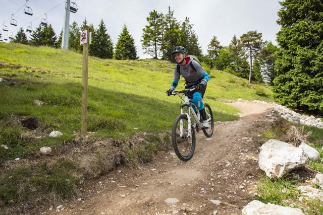Flow Trail a Molveno