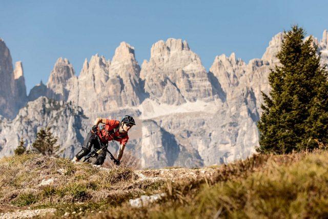 La maestosità delle Dolomiti