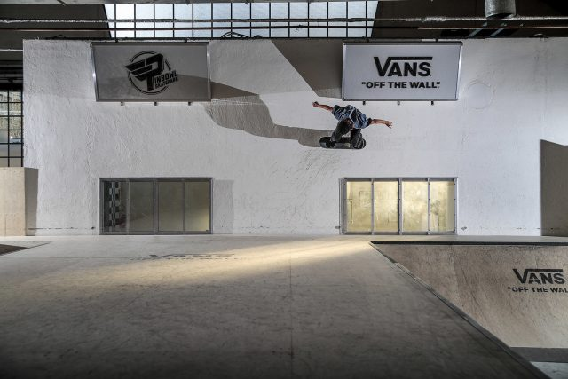 Pepe Tirelli - wallride from quarter to flat. ph.Romanello