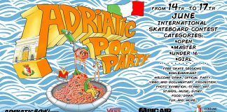adriatic pool party international skate contest 2018
