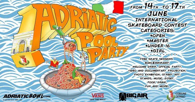 adriatic pool party international skate contest 2018