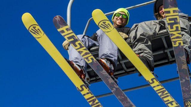 HG skis sci freestyle