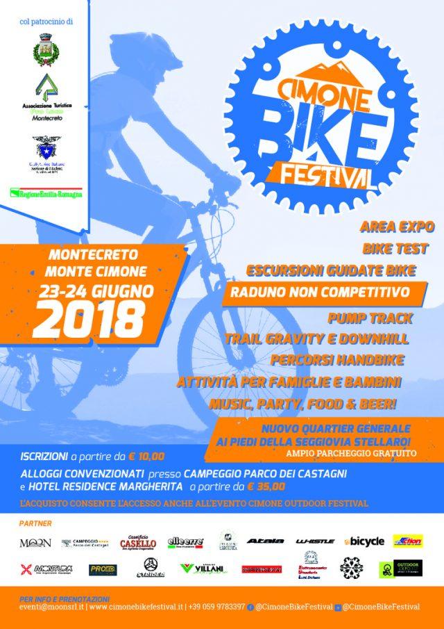 Locandina di Cimone Bike Festival