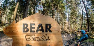 Lungo il Bear Trails