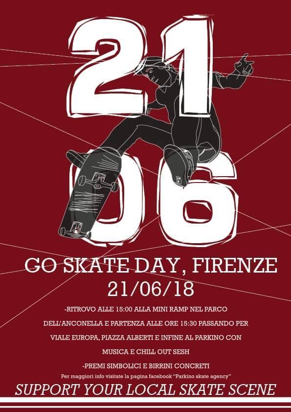 GO SKATEBOARDING DAY 2018 FIRENZE